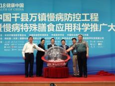 健康中国千县万镇慢病防控工程大会在京举行