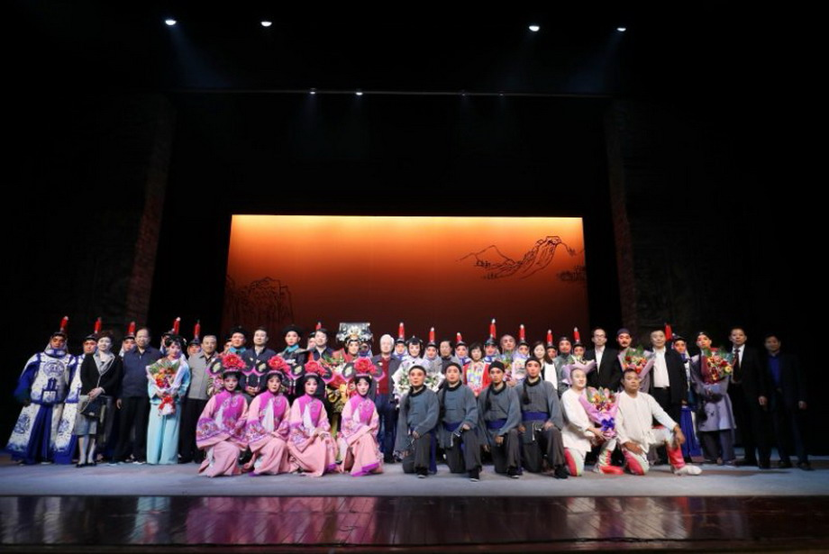 大型秦腔历史剧《关中晓月》在京上演-新华图闻网