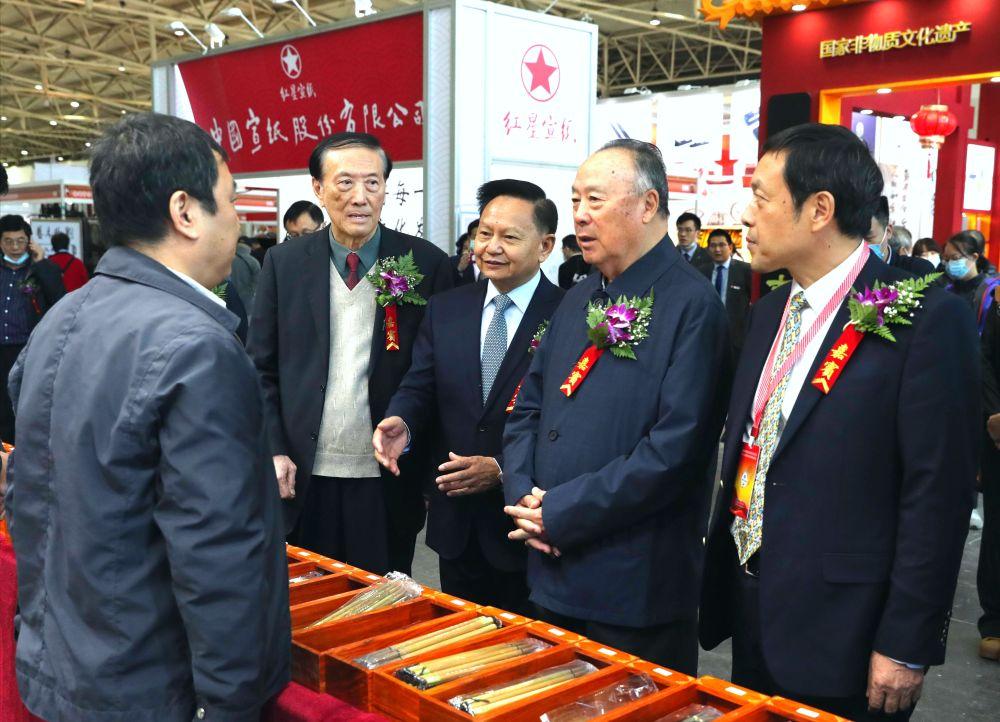 第45届全国文房四宝艺术博览会在京开幕-新华图闻网
