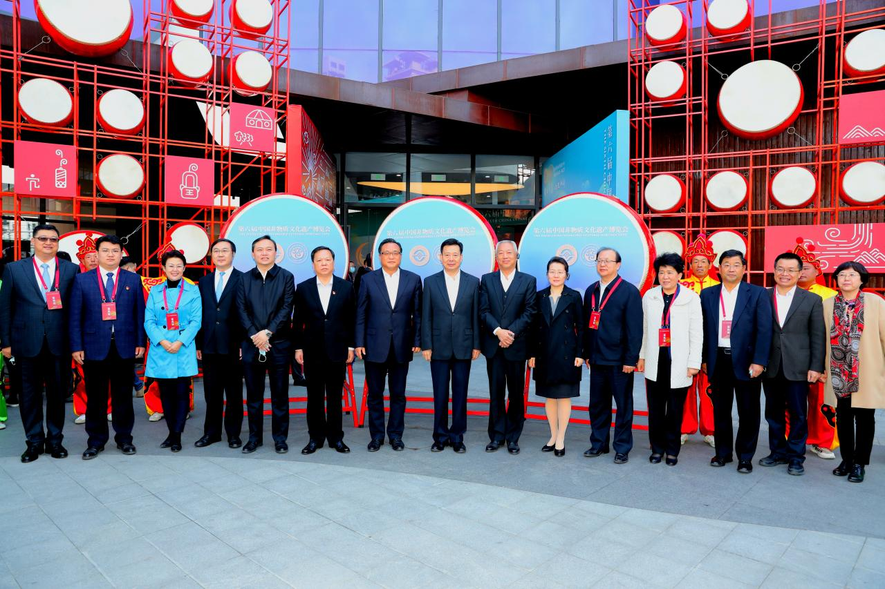 第六届中国非物质文化遗产博览会在济南开幕-新华图闻网